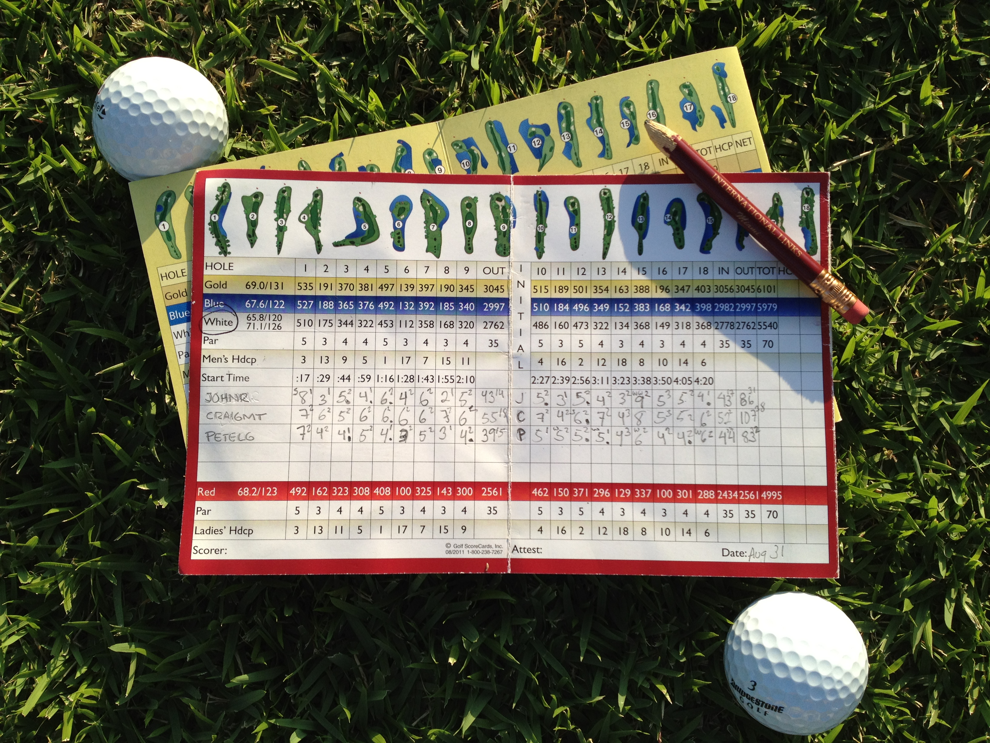 how to figure a golf handicap for 9 holes